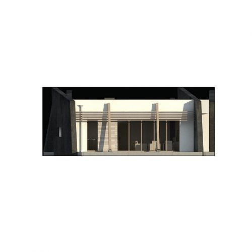 Фасад дома Zx180 4