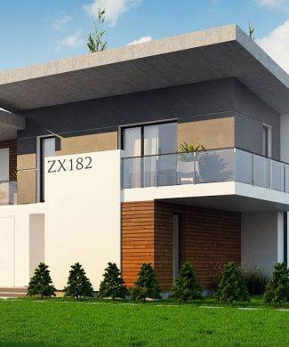 Фото проекта дома Zx182 вид с улицы