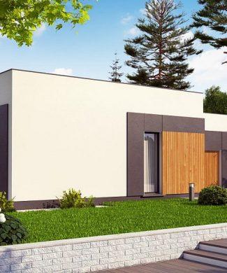 Фото проекта дома Zx185 вид с улицы