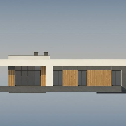 Фасад дома Zx185 1