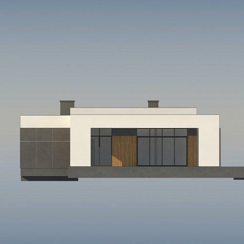 Фасад дома Zx185 2