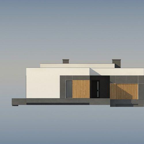 Фасад дома Zx185 4