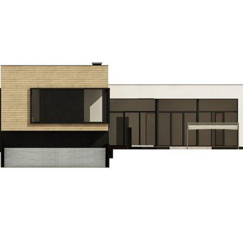 Фасад дома Zx190 1