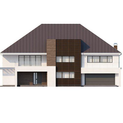 Фасад дома Zx20 1
