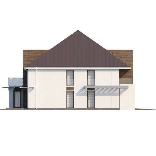 Фасад дома Zx20 2