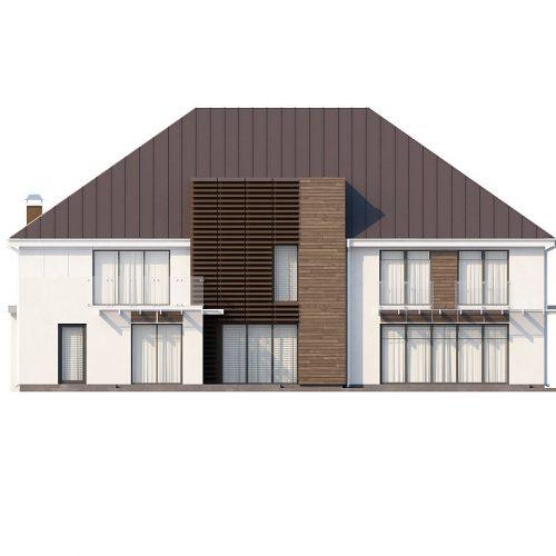 Фасад дома Zx20 3