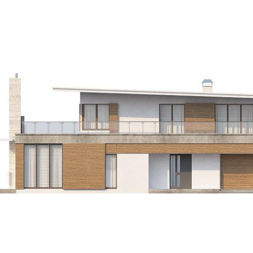 Фасад дома Zx21 1