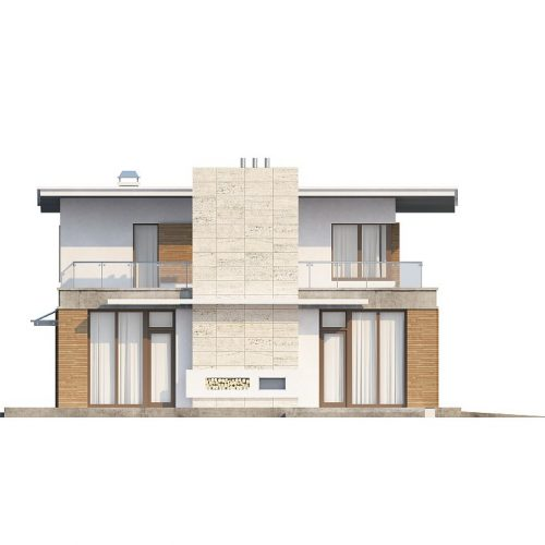 Фасад дома Zx21 2
