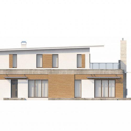 Фасад дома Zx21 3