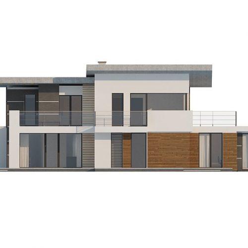 Фасад дома Zx22 3