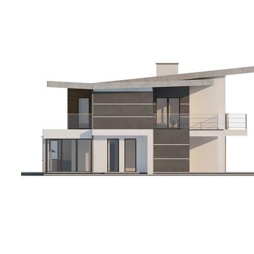 Фасад дома Zx22 4
