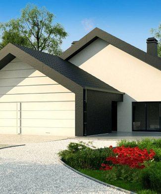 Фото проекта дома Zx251 вид с улицы