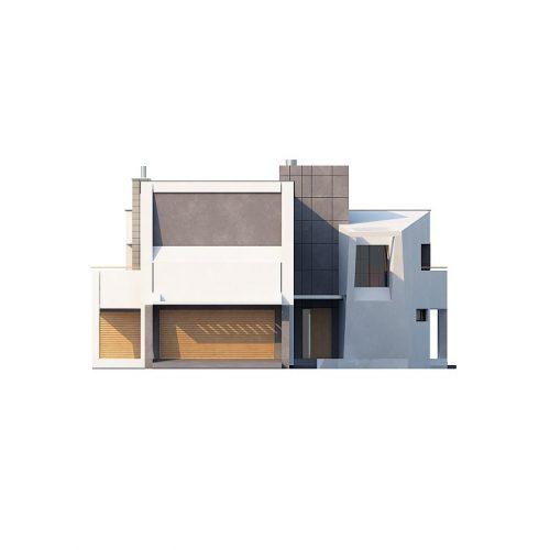 Фасад дома Zx27 1