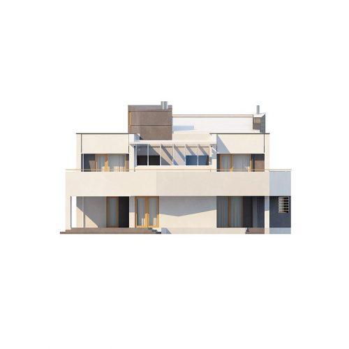 Фасад дома Zx27 3