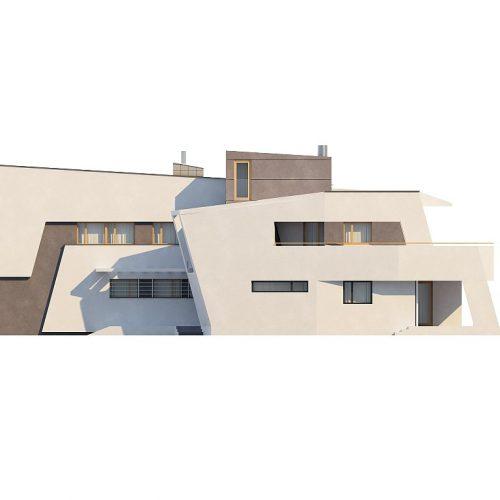 Фасад дома Zx27 4