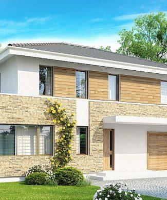 Фото проекта дома Zx29 S вид с улицы
