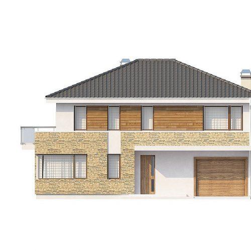 Фасад дома Zx29 S 1