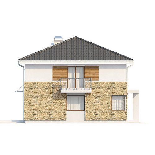 Фасад дома Zx29 S 2
