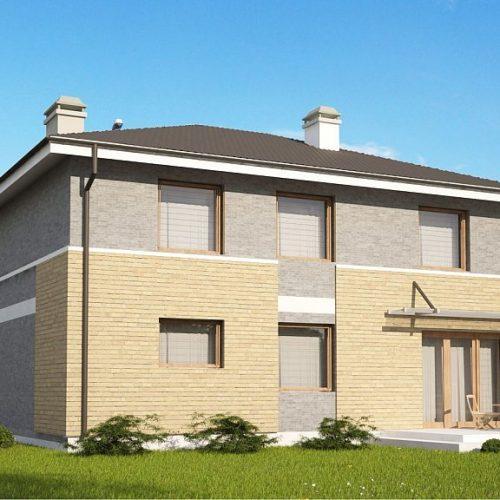 Фото проекта дома Zx29 k вид с улицы