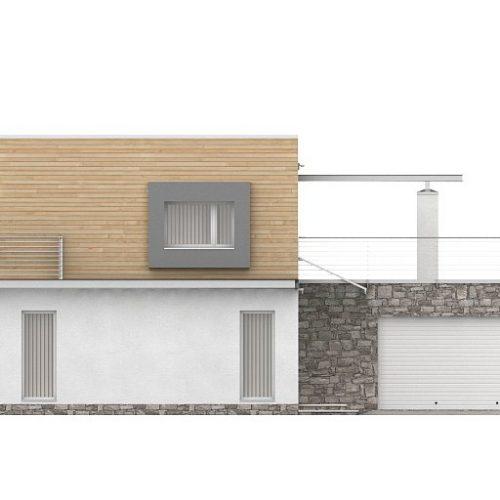 Фасад дома Zx3 1