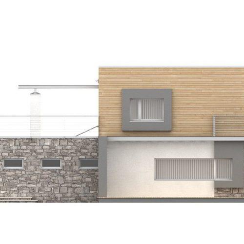 Фасад дома Zx3 2