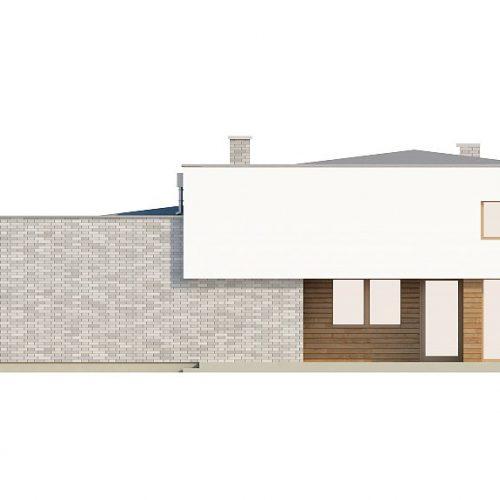 Фасад дома Zx34 1
