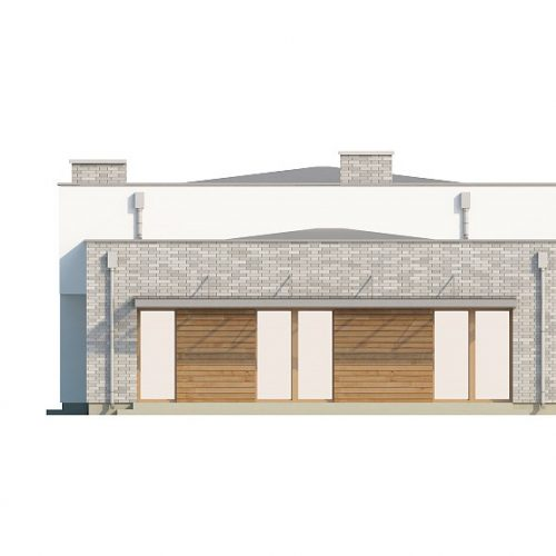 Фасад дома Zx34 3