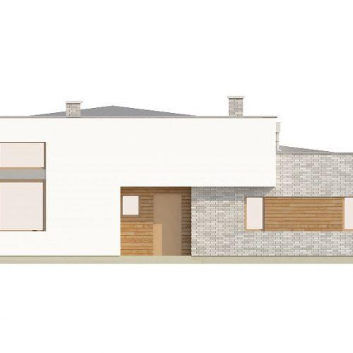 Фасад дома Zx34 4