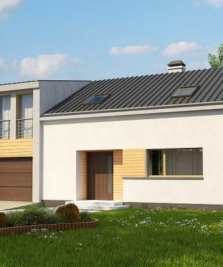 Фото проекта дома Zx36 A вид с улицы
