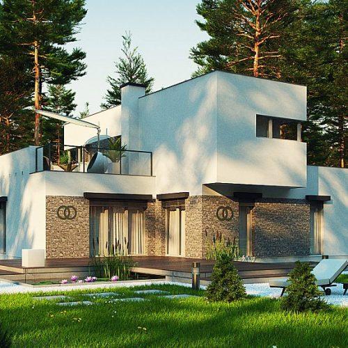Фото проекта дома Zx46 minus вид 2