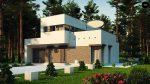Фото проекта дома Zx46 minus вид с улицы