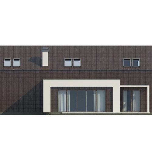 Фасад дома Zx48 2