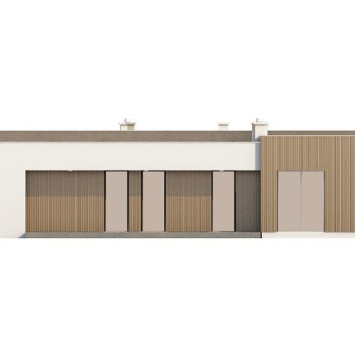 Фасад дома Zx49 3