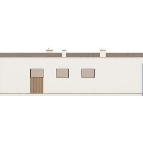 Фасад дома Zx49 4