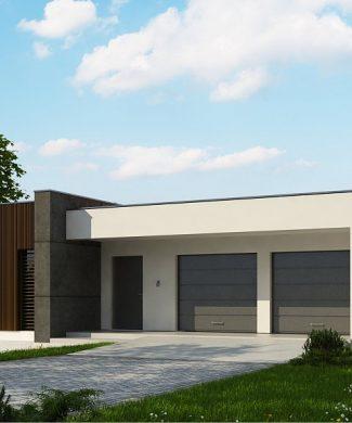Фото проекта дома Zx49 GP2 вид с улицы