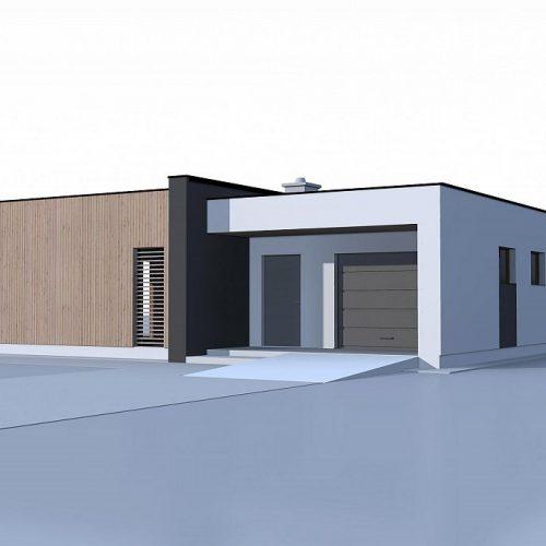 Фото проекта дома Zx49 minus вид 2