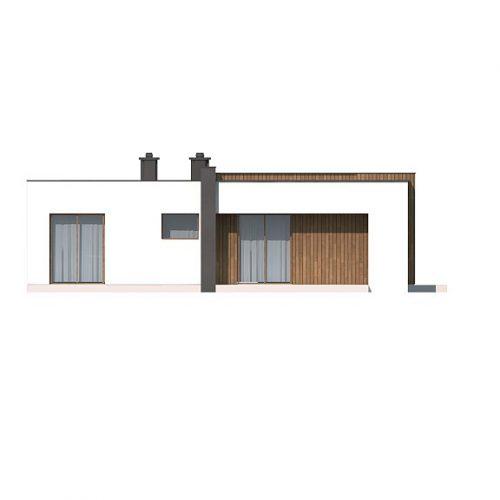 Фасад дома Zx49 minus 3