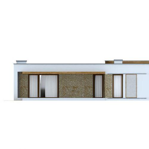 Фасад дома Zx53 2