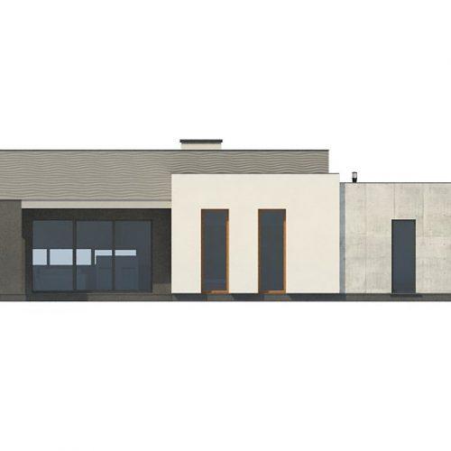 Фасад дома Zx56 1