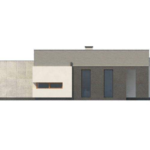 Фасад дома Zx56 2