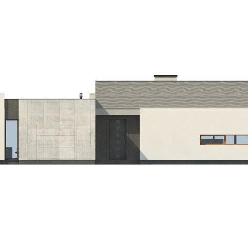 Фасад дома Zx56 3