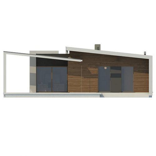 Фасад дома Zx57 1