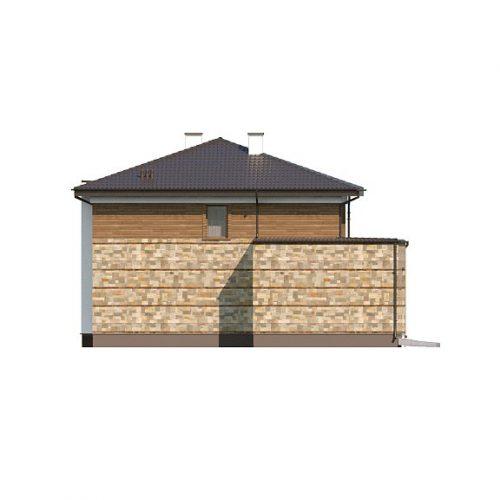 Фасад дома Zx62 2