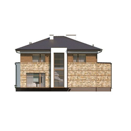 Фасад дома Zx62 3