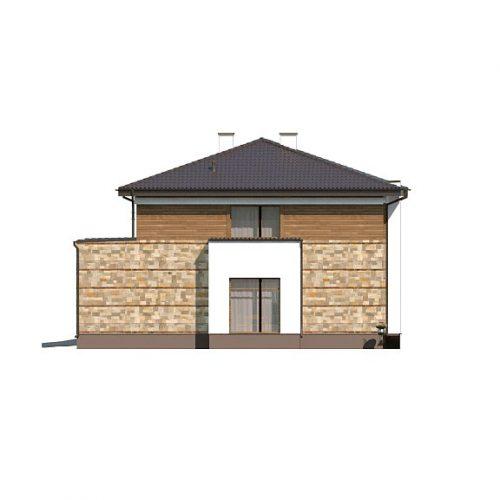 Фасад дома Zx62 4