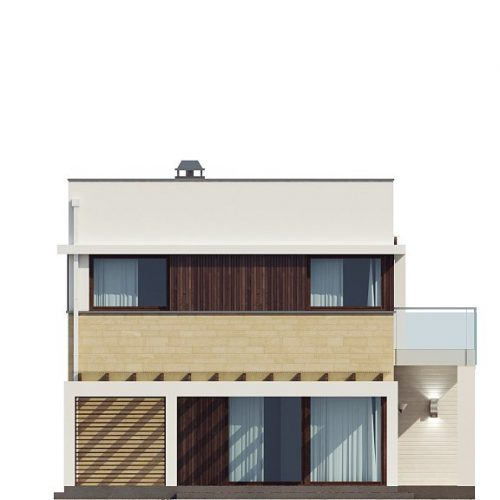 Фасад дома Zx63 4