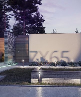 Фото проекта дома Zx65 вид с улицы