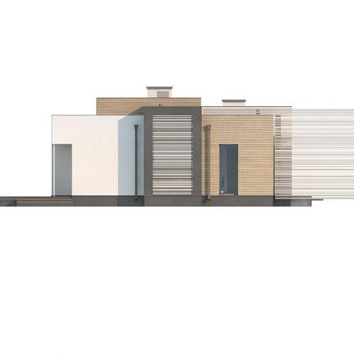 Фасад дома Zx65 + 4