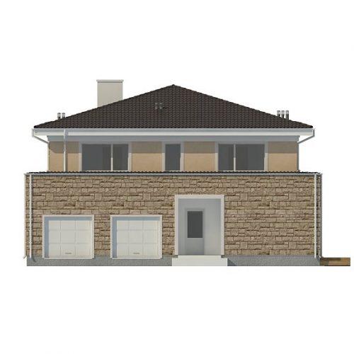 Фасад дома Zx66 1