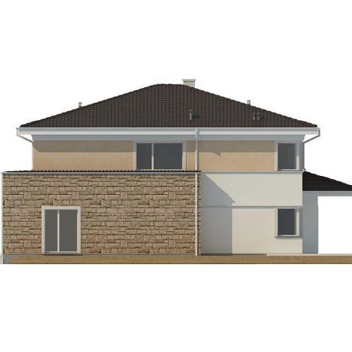 Фасад дома Zx66 4
